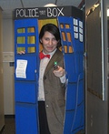 Doctor Who in the TARDIS Costume