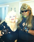 Dog the Bounty Hunter and Wife Costume