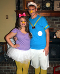 Donald and Daisy Duck Costume