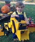Justin the Dozer Costume