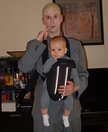 Dr. Evil & Mini-Me Costume