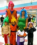 Dragon Ball Z Family Costume