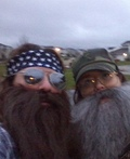 Duck Dynasty Duo Willie & Si Costume