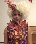 Effie Trinket from Hunger Games Costume
