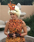 Effie Trinket's Butterfly Costume