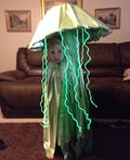 Electric Green Jellyfish Costume