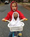 Elliot and E.T. Costume