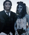Emily and Victor from Corpse Bride Costume