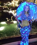 Enchanted Mermaid with Jelly Fish Costume