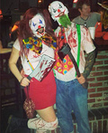 Evil Killer Clowns Costume