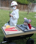 Exterminator and Mouse Trap Costume