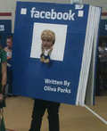 Facebook Costume