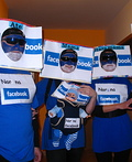 Facebook Family Costume