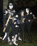 Family KISS Band Costume