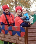 Family Viking Ship Costume