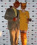 Mr Fox and Mrs Fox Costume