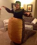 Fat Medusa Costume