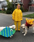 Fish & Chips Costume