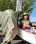 Fish and Fisherman Costume