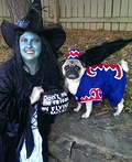 Wicked Witch and Flying Monkey Costume