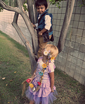 Flynn Rider and Rapunzel Costume