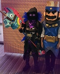 Fortnite Raven Costume