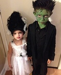 Frankenstein & his Bride Costume