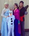 Frozen Costume