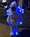Frozen Marshmallow Snow Monster Costume