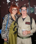 Ghostbusters Janine Melnitz and Louis Tully Costume