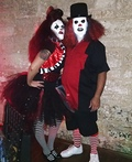 Giggles and Chuckles the Evil Clowns Costume