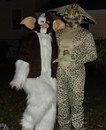 Gizmo and Mohawk from Gremlins 2 Costume