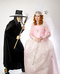 Glinda and Wicked Witch Costume
