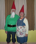 Gnome Couple Costume