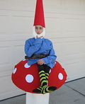 Gnome on a Toad Stool Costume