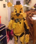 Golden Freddy Costume