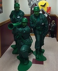 Little Green Army of 3 Costume