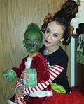 Grinch and Cindy Lou Who Costume