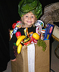 Bag of Groceries Costume
