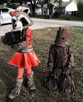 Groot and Rocket Kids Costume