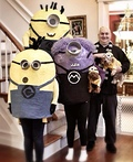 Gru and his Minions Costume