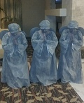Guardian Angel Statues Costume
