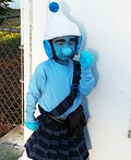 Gutsy Smurf Costume