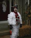 Halloween Snowman Costume
