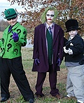 Batman Enemies: Riddler, Joker and Penguin Costume