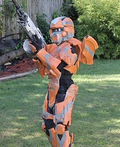 Halo 4 Warrior Costume