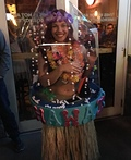 Hawaiian Snow Globe Costume