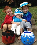 Heat Miser, Snow Miser and Bumble Costume