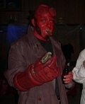 Hell Boy & Torchured Victim Costume