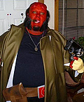 Hellboy and Gun Costume